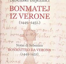 Šibenski bilježnici Bonmatej iz Verone (1449. – 1451.)
