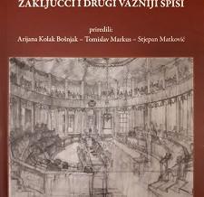Hrvatski Sabor 1861., zaključci i drugi važniji spisi