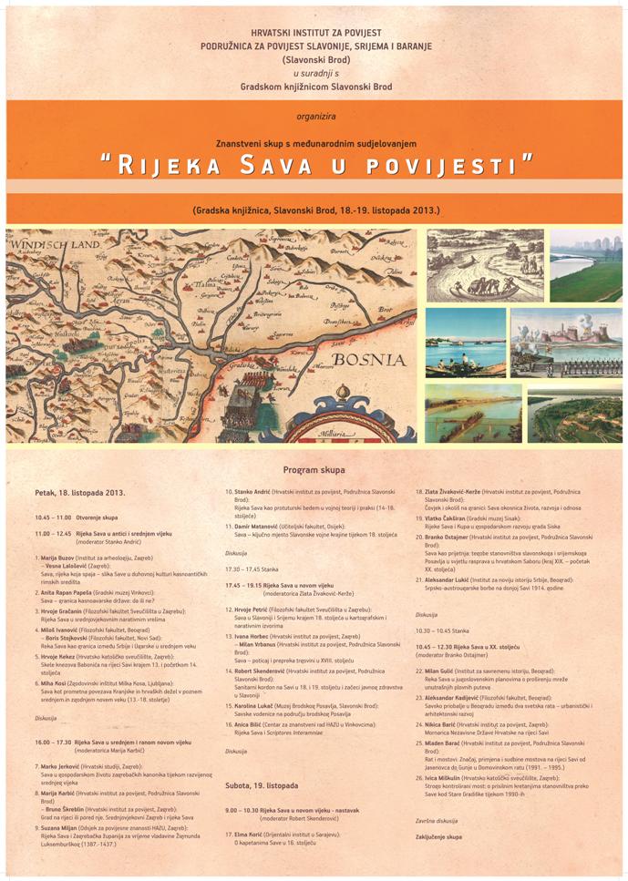 Rijeka Sava u povijesti