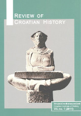 Review of Croatian History VII. no. 1 (2011)