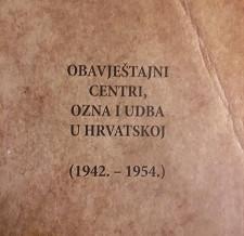Obavještajni centri, Ozna i Udba u Hrvatskoj (1942. – 1954.)