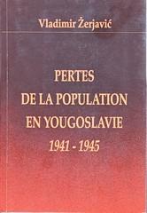 Vladimir Žerjavić: Pertes de la population en Yugoslavie