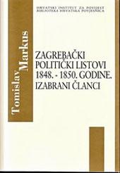 Zagrebački politički listovi 1848. – 1850.